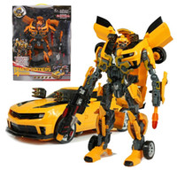Wholesale The fourth generation of the deformation four Hornet Super Robot variant with sound and light features children s toys