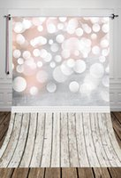 Muslin baby photography art - Fantasitic glitter bokeh printed baby photography backdrops Art fabric cloth photo background for studio Indoor photo decoration D