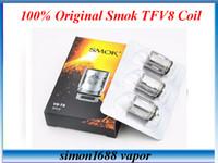 baby heads - Authentic Smok TFV8 Coil Head V8 T8 V8 T6 V8 Q4 Replacement Coils Smok TFV8 Baby coils v8 baby q2 core e cigarette vaporizer VS SSOCC Coils