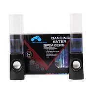 audio power line - Dancing Water Fountain Speaker Music Audio MM Player USB Powered For Tablet PSP Phone With Colorful LED Light WI123