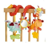bear rattle - Baby Rattles plush toys Christmas kids gift Baby Rattles Baby Soft Hand Rattles Soft Toys Cartoon Animal toys pusheen