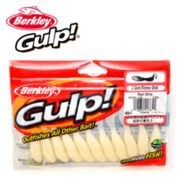 berkley saltwater gulp - Berkley Brand Gulp Series Minnow Grub GMIG3 CM Fishing Soft Lures Artificial Fishing Baits colors bag for Trout Bass