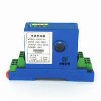 ac current transmitter - AC Transmitter new electromagnetic isolation A A DC open loop dc hall current sensor power transmitter