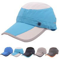 best holiday deals - Best Deal New Men And Women Outdoor Holiday Sport Sunshade Sun Hat Quick dry Ventilation Baseball Caps pc