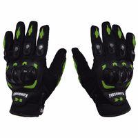 motorbike gloves - 1 Pair Kawasaki Full Finger Guantes Motorcycle Gloves Motorbike Luva Moto Motocicleta Motocross Guantes Gloves M L XL XXL