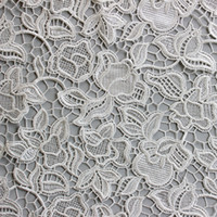 Wholesale Outstanding Design Heavy Polyester Shiny Lace Embroidered Fabric Crochet Lace Retail Manufacture Lace