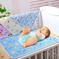 best changing mat - 2016 Best Quality X45cm Baby Infant Waterproof Urine Bed Mat Animal Reusable Diaper Travel Home Cover Burp Changing Pads