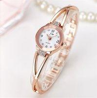 Wholesale luxury brand watches with diamond casual women gold watch quartz watch ladies bracelet wristwatch stainless steel watch luxury watches Brace