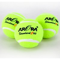 Wholesale pc mm Natural Rubber Fiber Durable Professional Standard Tennis Sports Training Balls For Beginer S60