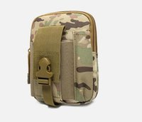 Wholesale The new military enthusiasts tactical packet Wear a belt samsung mobile phone package camouflage parcel