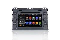 Android Car DVD PC para Prado 120 Con GPS, Bluetooth, Radio, FM, AM, RDS, MP3, MP4, DVD, SD, USB, control de rueda
