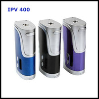 Wholesale 100 Original Pioneer4you IPV400 TC W Box Mod Poweredy by Dual Batteries with SX Chip Support Ni Ti SS316