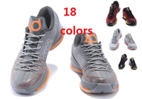 army kd - AAA Quality Kevin Durant KD Men Basketball Shoes Kd8 Aunt Pearl BHM All Star N7 Christmas Sports Shoes Sneakers Us