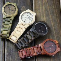 bewell watch - New Handmade Wood Men watches BEWELL Japan Movement Casual Quartz Watches Auto Calendar Butterfly Buckle