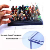 Wholesale Minifigures Building Blocks Sets Stackable Toys Blocks Display Collectible Item Classic Display Case For Children gift