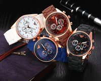 Wholesale Hot Luxury Brand Watch Casual men watches quartz watchwrist with calendar Top Brand tank Silicone Wristwatches for Men Women