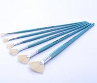 art supplies gouache - 2016 hit the tail bristle brush painting art supplies to cancel sector gouache pens oil paint brushes art sets