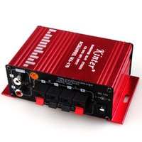 Wholesale 1PCS MA170 amplifiers DC12V small mini stereo amplifier Radio channel high fidelity stereo amplifier travel free shopping