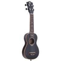 Wholesale 21 quot Soprano Ukulele Strings Spruce Basswood Ukulele with Metal Lock Ultrathin Special Good for Beginners Black Color