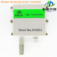 Wholesale Nitrogen dioxide gas transmitter NO2 sensors Range PPM output signal mA V RS485 Free test software