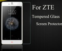 Wholesale 2 D H Tempered Glass Film for LG LV3 Zmax Pro z981 grand x4 Trio z833 Warp Idol Fierce LG X Power Tribute HD On5 with Retail Box