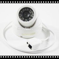 Wholesale Home Surveillance System CH IP Security Camera P NVR Kit System With Indoor Dome IP Camera P P MP P2P IR LED
