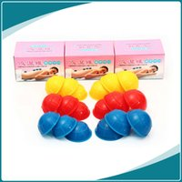 Wholesale Cupping Chinese set Therapy Cellulite Massage Silicone Cups Medical Vacuum Cupping Machine Massage Traditional Therapy B0495