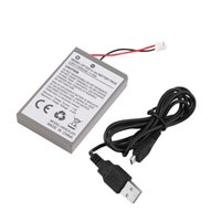 Wholesale 1pc mAh Rechargeable Battery Pack for Sony Playstation PS4 Controller Cable Drop Shipping