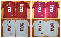 alabama youth - 2016 Alabama Crimson Tide Youth Jerseys Derrick Henry Diamond Edition Kids Boys Children College Football Jersey