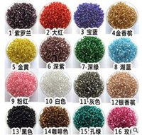 Wholesale mm Czech Glass Seed Spacer beads Jewelry Making DIY U Pick Colors hight quality