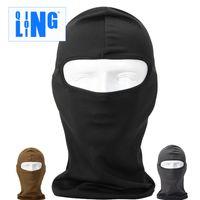 Wholesale New Popular forest sport bike motorcycle headgear windproof dustproof protective face mask sunscreen sports riding hoods