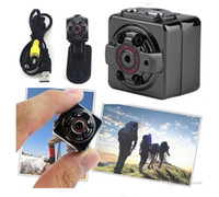 Wholesale HD P P Sport Spy Mini Camera SQ8 Espia DV Voice Video Recorder Infrared Night Vision Digital Small Cam Hidden Camcorder