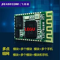 Wholesale Flying point of ETS network Bluetooth module high speed pass through serial port industrial LED4 Bluetooth module