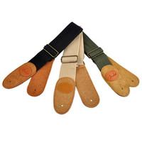 Wholesale Electric Acoustic Ukulele Classical Guitar Strap Faux Leather Comfortable Belt Classical Strap New Arrival Guitar Accessories