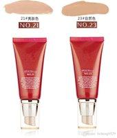 Wholesale Free shopping or BB Cream SPF42 ml liquid foundation BB CC Cream Concealer Cosmetics