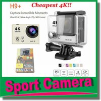 Wholesale Cheapest H9 Plus Action Camera K fps Gopro Style inch LCD Screen Wifi MP Waterproof P pfs Sport Camera JBD DV1