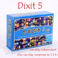 Wholesale Dixit journey version table top board card game for player playing