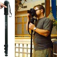 Wholesale WT1003 Camera Tripod Lightweight quot Camera Monopod WT For Canon Eos Nikon D DSLR Camera With Bag
