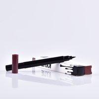 Wholesale Kylie double eyeliner side HOT MAKEUP Eyeliner Liquide Pencil waterproof Black and brown MR228