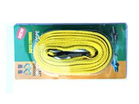 Wholesale Vehicle Tow Rope M Tons Loaded Metale Hook Yellow Car Tow Bar Tow Rope With Best Price