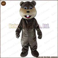 beaver plush - beaver mascot costume EMS cheap high quality carnival party Fancy plush walking Mole mascot cartoon adult size