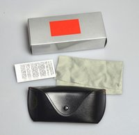 Wholesale sunglasses for cortical glasses box Soft bag buckle glasses box sun glasses box