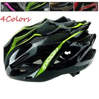 Wholesale Ultralight Bicycle Helmet CE Certification Cycling Helmet Integrally molded Bike Helmet Safety Protective Gear for Men Women Color Size M L