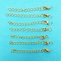 12mm ganchos de garra de langosta Extensión extendida Cadenas salto anillos Colgante Extender encantos collar Joyería de decoración Hacer gancho conector de bijoux