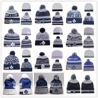animal print paper - Maple Leafs Hockey Beanies Team Hat Winter Caps Popular Beanie Caps Skull Caps Best Quality Toronto Blue Sports Caps