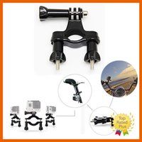 bars motorcycle accessory - Gopro Accessories Bike Motorcycle Roll Bar Tube Stand Mount Holder For Gopro Hero SJ4000