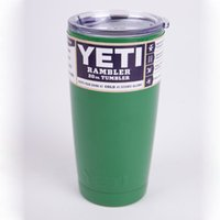beer for christmas - Fashion Stainless Steel ml Tumbler Travel Mug oz Cooler Rambler Tea Mugs Coffee Beer cup For Christmas Green