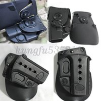 Wholesale NEW degree rotation rotating hand using a polymer holster Holster For GLOCK