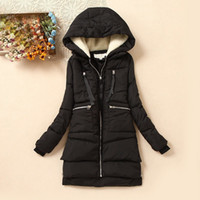Wholesale New Winter Women Wadded Jacket Female Outerwear Plus Size XL Thickening Casual Down Cotton Wadded Coat Women Parkas DM013