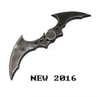 batman batarang - Black Batman Dark Knight Twin Blade Batarang Style Pocket Knife simulat Batman Dark Knight Knife